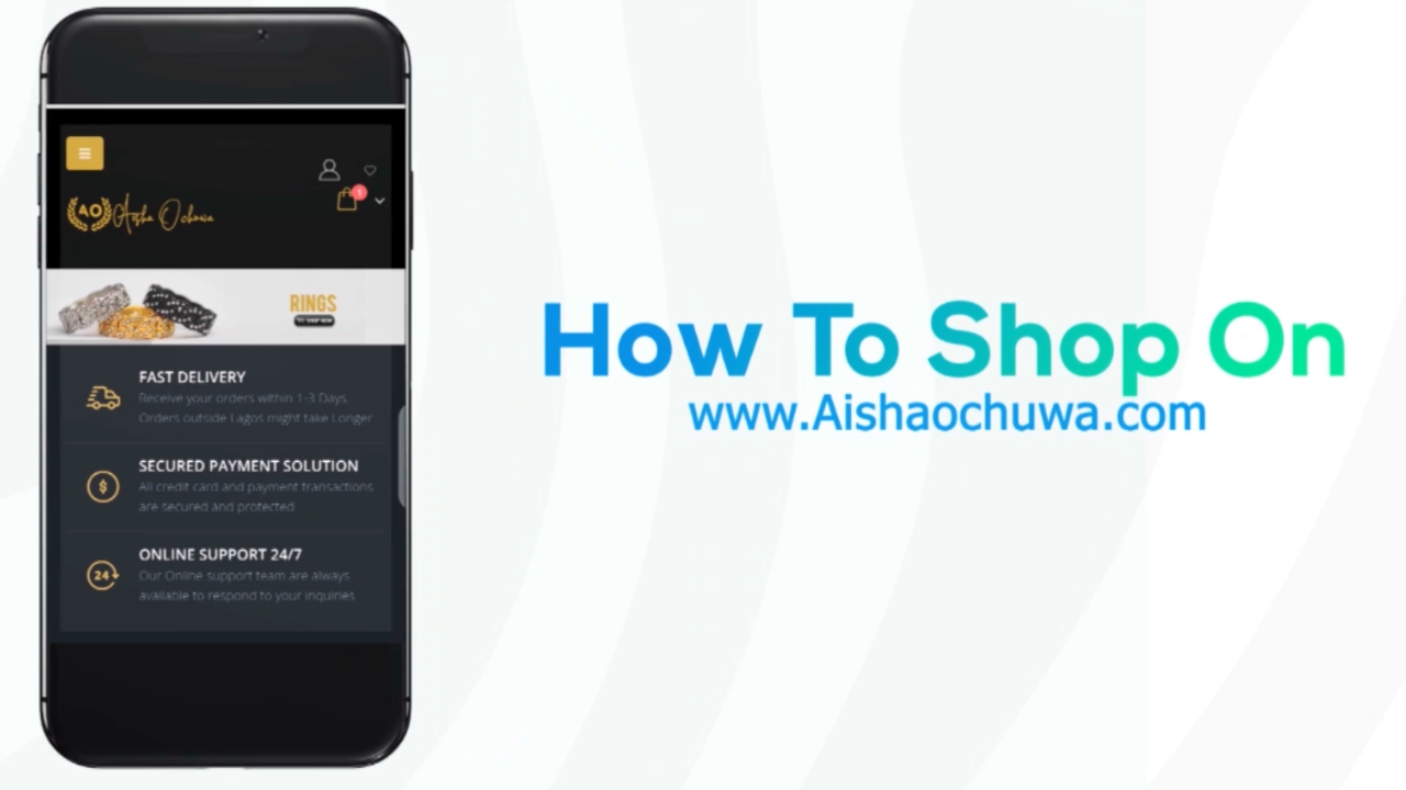 How to shop on the website