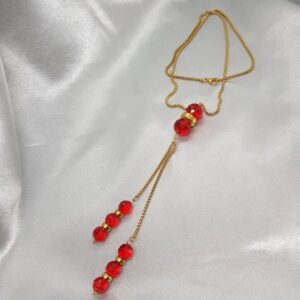 Long dressing chain RED