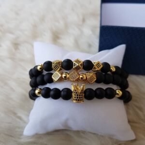 Yellow Gold Set Bracelets