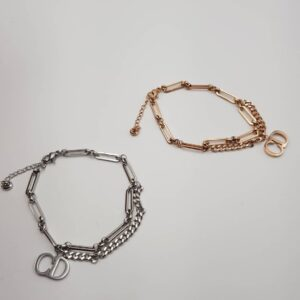 silver and rosegold Bracelet